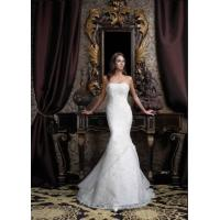 Quality 2011Cheap Customer-Made Design mermaid embroider Wedding dress for sale