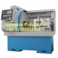 China CK6432A CNC Lathe Machine Tool With 6 Stations Turret and Linear guide on sale