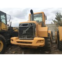 Quality Volvo L70E Wheel Used CAT Loaders D6D Engine 12890KG Operating Weight for sale