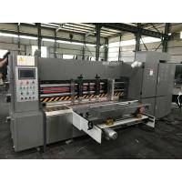 China 380V 50HZ Automatic Rotary Die Cutting Machine For 3/5/7 Corrugated Cardboard on sale