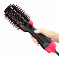 China One Step Hair Dryer Electric Hair Brush , Multi Functional Salon Electric Curling Brush on sale