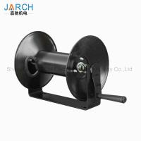 Buy cheap 100 ft. garden service truck cable reel easy to install Light Industrial Hand Crank Hose Reel from wholesalers