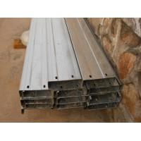 China Automatic Drilled Holes Steel Building Purlins, Cold Rolled Steel C Purlin on sale