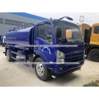 Quality ISUZU 5tons Water Spraying Truck 5000L Water Bowser Tanker Transport Truck for sale