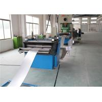 Anti Corrosion Cable Tray Roll Forming Machine Forge Steel Shaft 5.5kw Cutting Power for sale