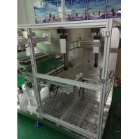 Buy Powerful Non Woven Mask Making Machine Taiwan Delta PLC System , Folding Rate Very Low at wholesale prices