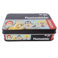 Quality 4 Color Print Chocolate Tin Box Clear Vanished Inside Metal Tinplate Case for sale