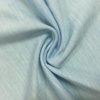 China Dyed Stretch Plain Jersey Fabric 215cm Width 170gsm Soft Good Spandex on sale