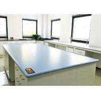 Quality Blue / Customized Color Chemical Resistant Table Tops Island Bench Type for sale