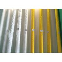 Buy cheap Low Elongation Polyester White And Yellow Screen printing Mesh  90T-180T for  Ceramic Printing from wholesalers