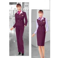 Quality Company business uniforms clothing with trousers ,restaurant spa workwear for sale
