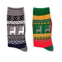 China Mens Christmas Tube Socks on sale