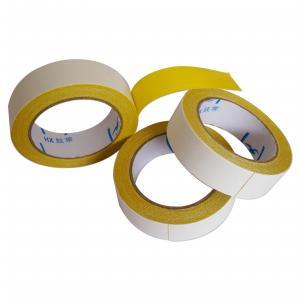 1.88inch Heavy Duty Double Faced Carpet Tape High Viscosity Easy Tear Gauze Fiber