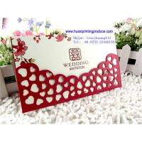 Quality Colorful Wedding Card for sale