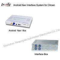 Quality Car Multimedia Navigation System with Android Navigation / 3G / WIFI for 2014 Peugeot for sale