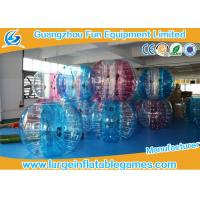 Buy cheap TPU Inflatable Bubble Ball , 1.5m Bumper Human Body Zorb Football product