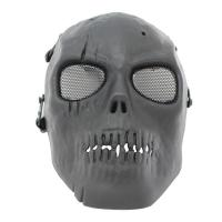 Quality Skull Tactical Gear Mask / Full Face Mesh Mask For CS Or Airsoft Game for sale