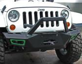 Quality Durable Steel 2007 Jeep Wrangler Bumpers / Front And Rear Bumpers CE Certificate for sale