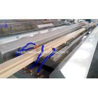 China wpc door frame extrusion line WPC solid door frame extrusion line on sale