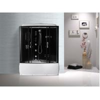 Buy Black  Profiles Enclosed Bath Shower Unit , Complete Shower Stall Kits at wholesale prices