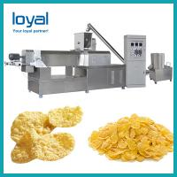 China Snacks making machine breakfast cereal production line food extrusion equipment on sale