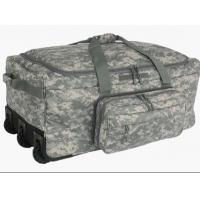 Quality ACU Trolley 600D Poly Wheeled Deployment Military Tactical Bags for sale