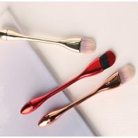 Quality Red 3 PCS Wooden Handle Makeup Brushes High Grade Mask Makeup Brush Type for sale
