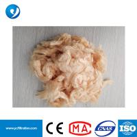 Quality 100% Virgin PTFE Staple Fiber PTFE Yarn for Dust Collector Bag Cement Industry Wholesaler for sale