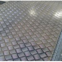 Quality Roll Aluminium Floor Plate 2mm Thick , Aluminum Tread Plate Embosssed Sheet for sale