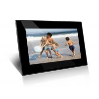 China Black HD 7 Inch Wall Mount LCD Digital Photo Frame With Mirror Cover on sale