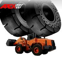 Quality Wheel Loader Solid Tire for Doosan Vehicle 17.5-25, 20.5-25, 23.5-25, 26.5-25, 29.5-25 for sale