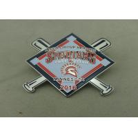 Buy cheap Years Of Service Pins By Brass Die Stamped Soft Enamel Pin Printing Religious Pin from wholesalers