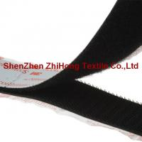 Quality Customized dimension 3M strong sticking Velcro hook loop closure for sale