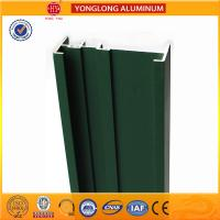 Quality Square Green Powder Coated Aluminum Alloy Extrusion With Strong Stability for sale