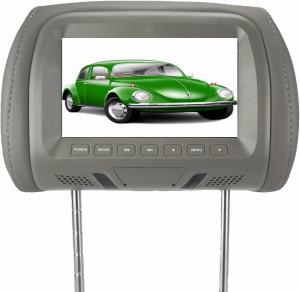 7'' Wide Screen Headrest Video Monitors , Car Headrest DVD Player Aspect Ratio 16 / 9