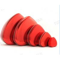 Buy heart shaped  chocolate tin sets for valentine at wholesale prices