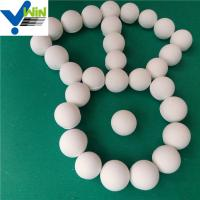 Quality low water absorption alumina ceramic catalyst carrier infilling beads ball for sale