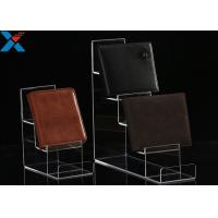 Quality Mobile Phone / Wallet Acrylic Display Stands Multilayer Display Rack Eco - Friendly for sale