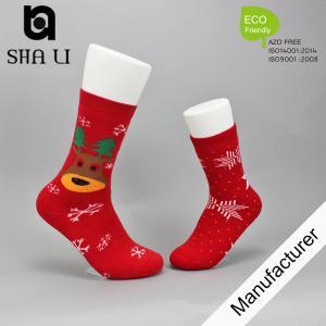 red Kids bamboo socks from china custom sock manufacturer