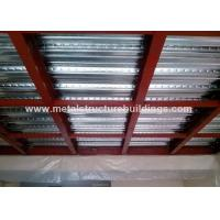 Quality Wind Resistant Office Mezzanine Structures Fast Building Construction for sale