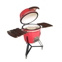 Quality new technology 2019 garden outdoor kitchen stone ceramic charcoal clay bbq grill kamado for sale