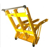 Quality Eye Catching Foldable Portable Vehicle Barriers Antirust for sale