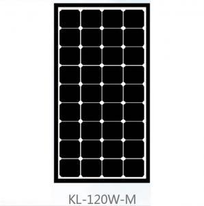 Quality Roof 120 Watt Mono Crystal Solar Panel , Monocrystalline PV Panels Solar Power for sale