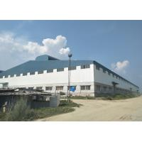 China Large Garage Workshop Buildings Metal Workshop Building With Concrete Ground Floor on sale