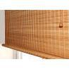 Buy cheap Poly Yarn Bamboo Hemp Curtain Woven Wood Fabric Environmentally Friendly from wholesalers