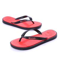 China Red Reef Contoured Cushion Flip Flop Wear Resistant OEM / ODM Accepted on sale