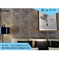 Buy cheap Embossed Modern Removable Wallpaper with Removable Vinyl Material 0.53*10M product