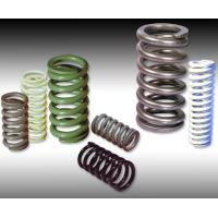 Quality Stainless Steel Helical Compression Coil Spring / Motorcycle Coil Springs for sale