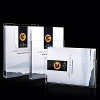 Quality OEM Acrylic Brochure Holders ,  Wall Mounted Plastic 1/3 A4 Leaflet Holder for sale