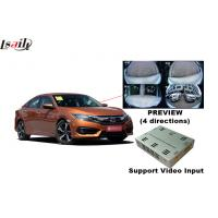 Quality Honda Civic and Accord 360 Degree Bird View Parking Guildeline Camera Interface Parking System for sale